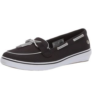Keds Grasshoppers Black Windsor Lace Core Sneaker
